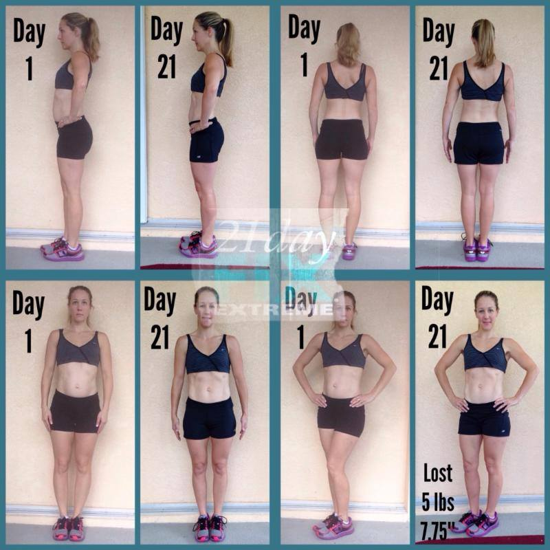 21 Day Fix Extreme Before and After