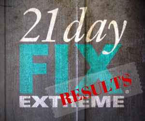 Rebekah's 21 Day Fix Extreme Results