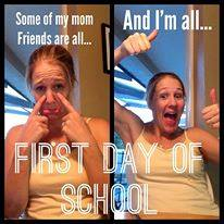 First Day of School Be Like…
